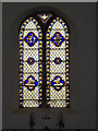 TM1178 : Stained Glass Window of St.Peter's Church by Adrian Cable
