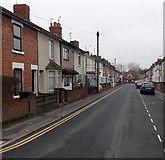 SU1585 : Whiteman Street, Swindon by Jaggery