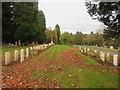 NY3954 : War graves, Carlisle Cemetery by Graham Robson