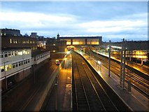 NY4055 : Carlisle Station seen from Victoria Viaduct by Graham Robson