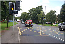 SE3155 : Box junction, Skipton Rd by N Chadwick
