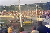 SX8672 : Stock car racing, Newton Abbot by Chris Denny