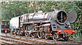TQ4023 : BR Standard 5 4-6-0 preserved on Bluebell Railway at Sheffield Park, 1997 by Ben Brooksbank