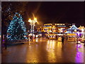 SZ0891 : Bournemouth: Christmas 2014 in The Square by Chris Downer