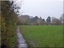 SJ4332 : Footpath in Colemere Country Park by David Smith
