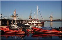 NT1278 : Port Edgar by Anne Burgess