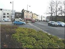 TQ7668 : Looking east-southeast along the High Street by John Baker