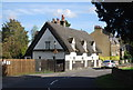TL4454 : Thatched cottage, Grantchester Rd by N Chadwick