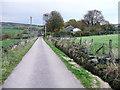 SE0027 : Rowland lane approaching Lane Ends Lane by Humphrey Bolton