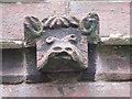 SJ5645 : Church of St Michael, Marbury: grotesque by Stephen Craven