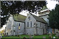 TQ6404 : St Nicholas' church, Pevensey by Julian P Guffogg