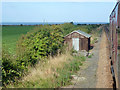 TG1242 : Platelayers' hut, North Norfolk Railway by Robin Webster