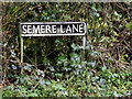 TM2084 : Semere Lane sign by Adrian Cable