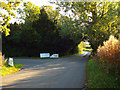 SP0674 : Entrance to Kings Norton Golf Club, Brockhill Lane by Robin Stott