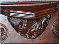 SJ8398 : Manchester Cathedral Misericord by David Dixon