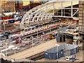 SJ8499 : Installation of New Roof at Victoria Station (Dec 2014) by David Dixon
