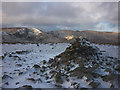 NY4509 : New snow, Harter Fell by Karl and Ali
