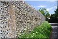 TV5299 : A flint wall, Westdean by N Chadwick
