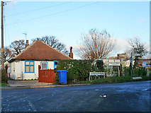 TR0862 : Road junction, Highstreet by Robin Webster