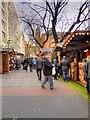 SJ8398 : Manchester Christmas Market, Lincoln Square (Brazenose Street) by David Dixon
