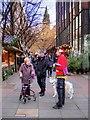 SJ8398 : Manchester Christmas Market, Brazenose Street by David Dixon