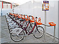 SU7173 : ReadyBikes at Reading Station North by Rose and Trev Clough