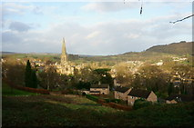 SK2168 : Bakewell from Yeld Road by Peter Barr