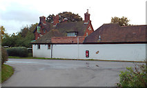 SP0575 : Outbuildings of The Peacock pub by Lea End Lane, Forhill by Robin Stott