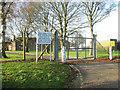 TG0018 : Entrance to Robertson Barracks by Evelyn Simak