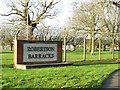 TG0018 : Robertson Barracks sign by Evelyn Simak