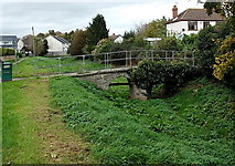 SO5012 : South side of Grade II* listed Clawdd-du Bridge, Monmouth by Jaggery