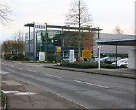TL4661 : BBC building, Cambridge Business Park by Hugh Venables