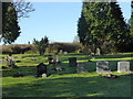 SO8658 : Spellis Green Burial Ground - Fernhill Heath by Chris Allen