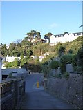 SX9263 : South West Coast Path passing Torquay's Imperial Hotel by David Smith