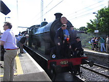 O2839 : Steam excursion at Howth Station by Colin Park