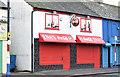 J3373 : Café, Sandy Row, Belfast (December 2014) by Albert Bridge