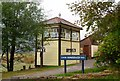 SH6918 : Signal box, Penmaenpool by nick macneill
