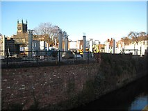 SO8554 : Construction site in Sidbury by Philip Halling