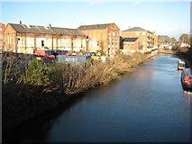 SO8554 : Former industrial buildings by Philip Halling