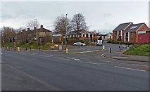 SK5802 : Saffron Lane/Hawkins Road junction by Mat Fascione