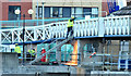 J3474 : The Lagan Weir footbridge, Belfast - December 2014(3) by Albert Bridge