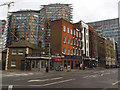 TQ3180 : Buildings on the north side of Southwark Street by Stephen Craven