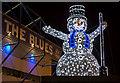 SJ3593 : Snowman by William Starkey