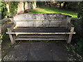 TM3969 : Seat at Mulberry Park by Adrian Cable