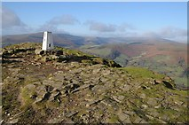 SO2718 : Trig point on the summit of Sugar Loaf by Philip Halling