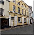 SO5012 : Yellow 3-storey office building in Priory Street, Monmouth by Jaggery