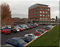 ST2225 : Viridor House and car park in Taunton by Jaggery