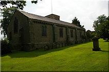 NZ2308 : Barton: St Mary's church by Christopher Hilton