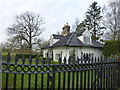 TL8261 : The gate lodge at Ickworth House, Suffolk by Richard Humphrey