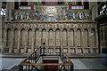 SK7953 : Sedilia, St Mary Magdalene church, Newark by Julian P Guffogg
